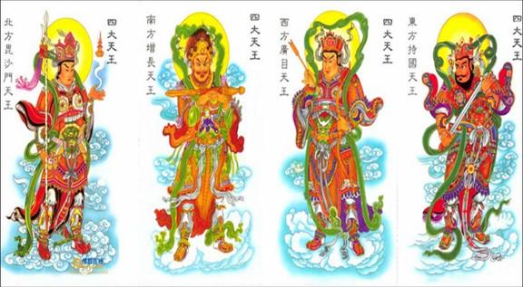 佛教「四大天王」的表法含义