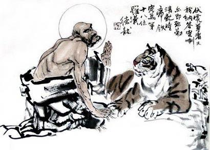 佛教故事:小老虎修成阿罗汉