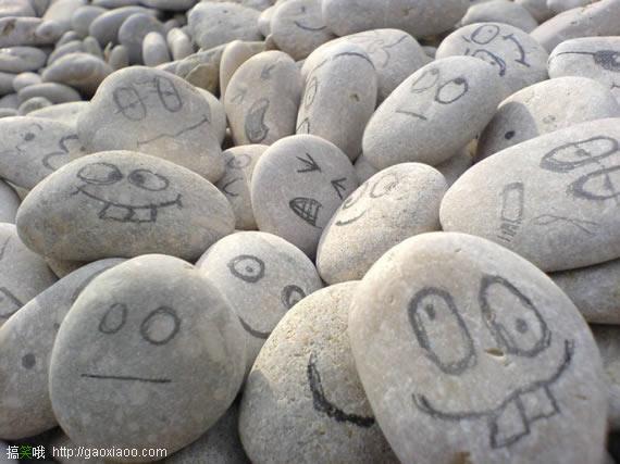 石头本无意,何必自生怨