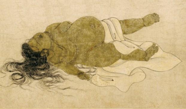 对治美色淫欲的《九相图》