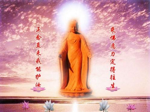 生死无常,念佛之人自然得庇佑
