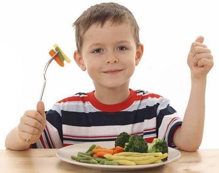 四个事实证明素食能让儿童健康成长