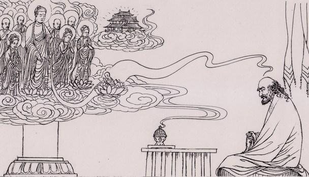 佛驮跋陀罗尊者画传