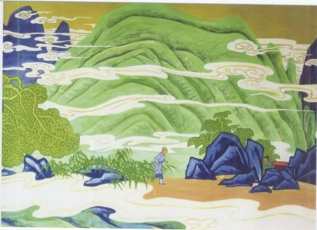 禅宗六祖惠能生平壁画欣赏
