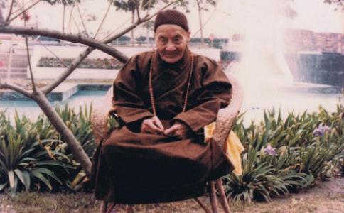 当代高僧广钦老和尚